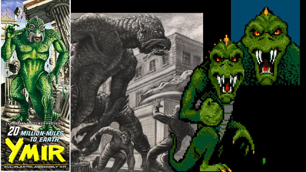 Lizzie Monster origins
