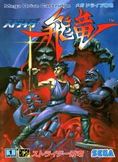 Strider cover art for Megadrive