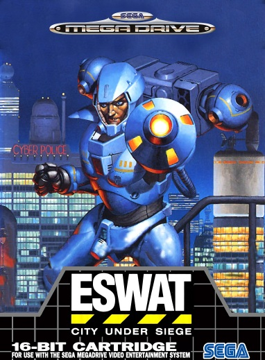 ESWAT cover for SEGA Genesis